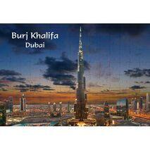 Ajooba Dubai Souvenir Puzzle Burj Khalifa 0059