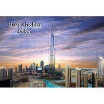 Ajooba Dubai Souvenir Puzzle Burj Khalifa 0062