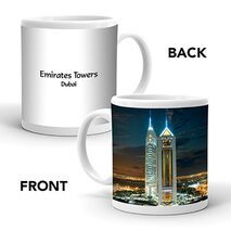 Ajooba Dubai Souvenir Mug Emirates Towers MG 011