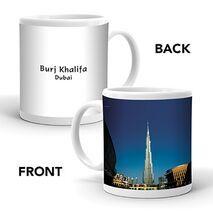 Ajooba Dubai Souvenir Mug Burj Khalifa 0001