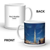 Ajooba Dubai Souvenir Mug Burj Khalifa 0006