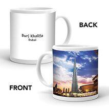 Ajooba Dubai Souvenir Mug Burj Khalifa 0009