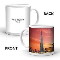 Ajooba Dubai Souvenir Mug Burj Khalifa 0010