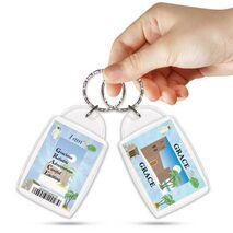 KPK 125 GRACE Personalised Name Souvenir Keyring With Qualities