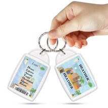 KPK 133 HEATHER Personalised Name Souvenir Keyring With Qualities