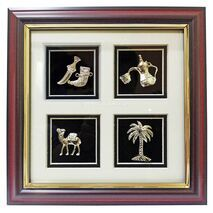 4 House Metal Frame