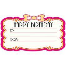 Birthday Gift Tag BGT 0001