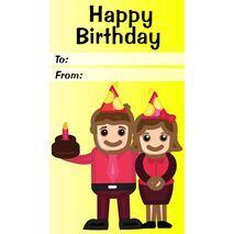Birthday Gift Tag BGT 0003