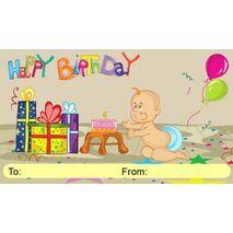 Birthday Gift Tag BGT 0005