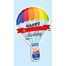 Birthday Gift Tag BGT 0011
