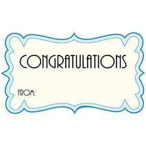 Congratulations Gift Tag C GT 0601