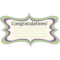 Congratulations Gift Tag C GT 0602