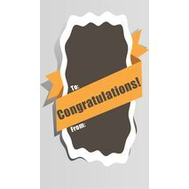 Congratulations Gift Tag C GT 0603