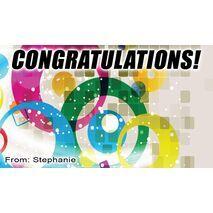 Congratulations Gift Tag C GT 0607