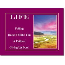 Motivational Print Life MP LI 0001