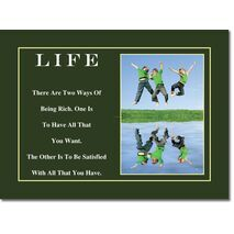 Motivational Print Life MP LI 0006