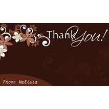 Thank You Gift Tag TY GT 0405