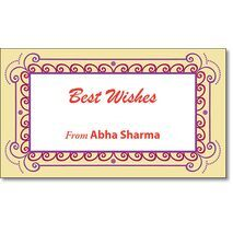 Best Wishes Gift Tag BW GT 0701