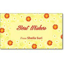 Best Wishes Gift Tag BW GT 0711