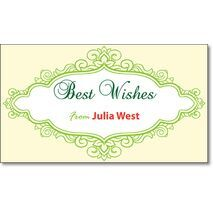 Best Wishes Gift Tag BW GT 0714