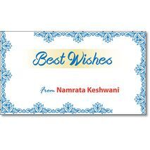 Best Wishes Gift Tag BW GT 0715