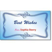 Best Wishes Gift Tag BW GT 0718