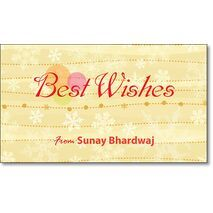 Best Wishes Gift Tag BW GT 0721