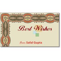 Best Wishes Gift Tag BW GT 0722