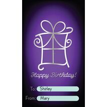Birthday Gift Tag BGT 0014