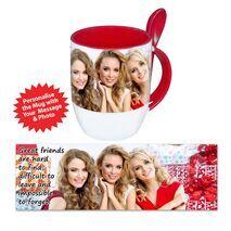 Personalised Pictorial Spoon Mug PP SM 1301