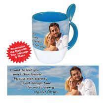 Personalised Pictorial Spoon Mug PP SM 1303