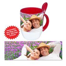Personalised Pictorial Spoon Mug PP SM 1304