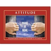 Motivational Print Attitude MP AT 007