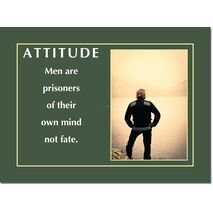 Motivational Print Attitude MP AT 015