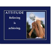 Motivational Print Attitude MP AT 017