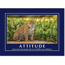 Motivational Print Attitude MP AT 018