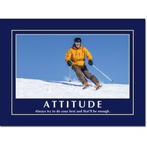 Motivational Print Attitude MP AT 024