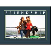 Motivational Print Friendship MP SH 8913