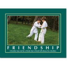Motivational Print Friendship MP SH 8914