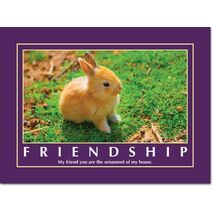 Motivational Print Friendship MP SH 8916