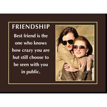 Motivational Print Friendship MP SH 8917