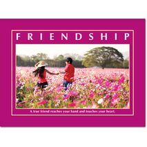 Motivational Print Friendship MP SH 8918