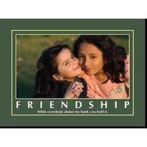 Motivational Print Friendship MP SH 8919