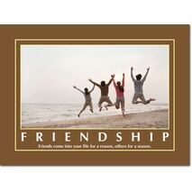 Motivational Print Friendship MP SH 8903