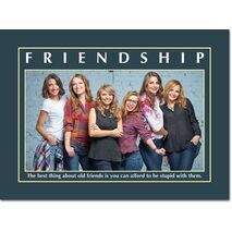 Motivational Print Friendship MP SH 8922