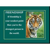 Motivational Print Friendship MP SH 8923