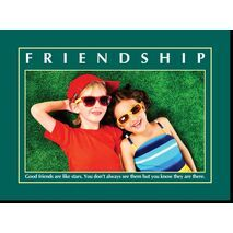 Motivational Print Friendship MP SH 8904