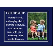 Motivational Print Friendship MP SH 8907