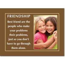 Motivational Print Friendship MP SH 8908