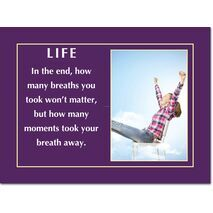 Motivational Print Life MP LI 0025